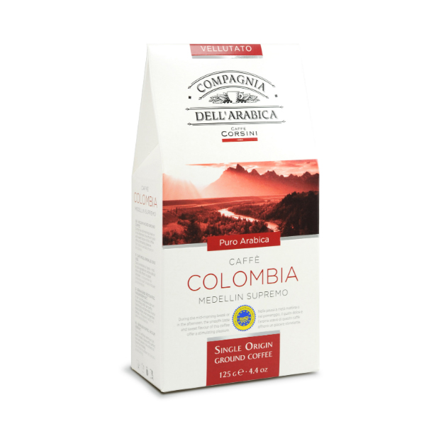 Colombia Medellin ground coffee 250gr Italy