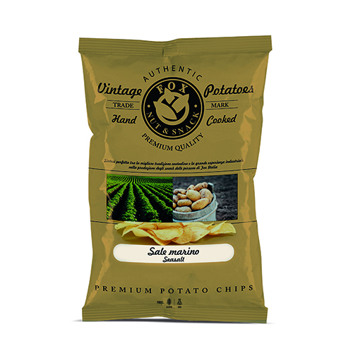 Vintage Potatoes chips -BALSAMIC VINEGAR-40g Snack food Italy  Chip Chips Leisure food