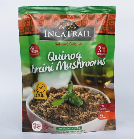 Sprouded Quinoa
