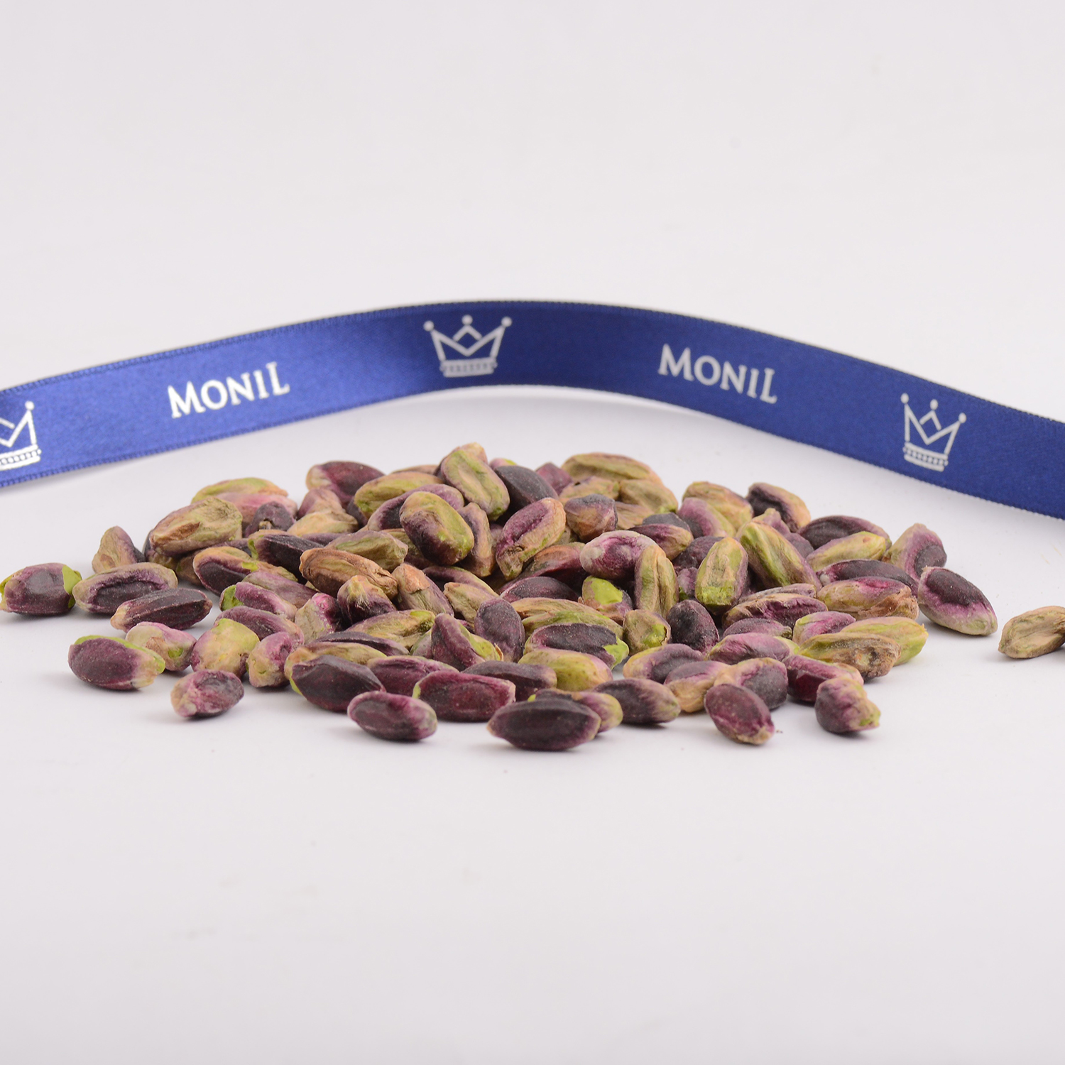 PDO Bronte pistachio MONIL kernel, nut, snack food from Italy