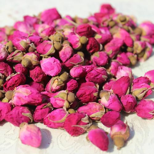 Certified Organic Strong Aroma Rose Bud Herbal Tea