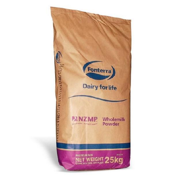 New Zealand Fonterra Two Drops NZMP Whole Milk Powder