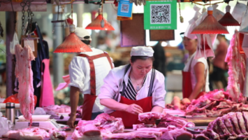 China's pork prices retreat as hog production recovers