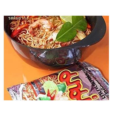Instant noodles, pork flavored instant noodles, ramen noodles, convenience food, Thailand, mama noodles