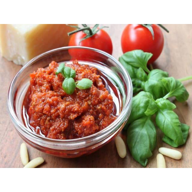 RED PESTO Sause, condiment , Italy, SARF Specialità Alimentari Riviera dei Fiori