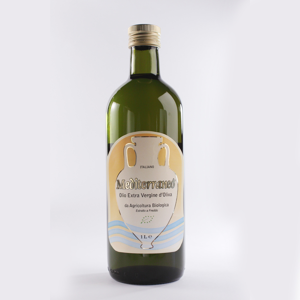 Mediterraneò®  Organic Extra Virgin olive oil, 100% Product of Italy  500ml/750ml/1lt