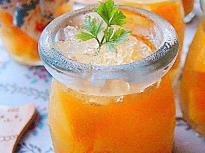 Fresh Peach Cup