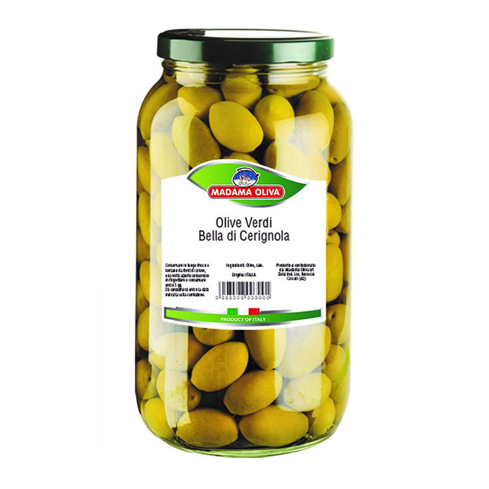 Green Cerignola Olives Italian Convenience Food Green Olives
