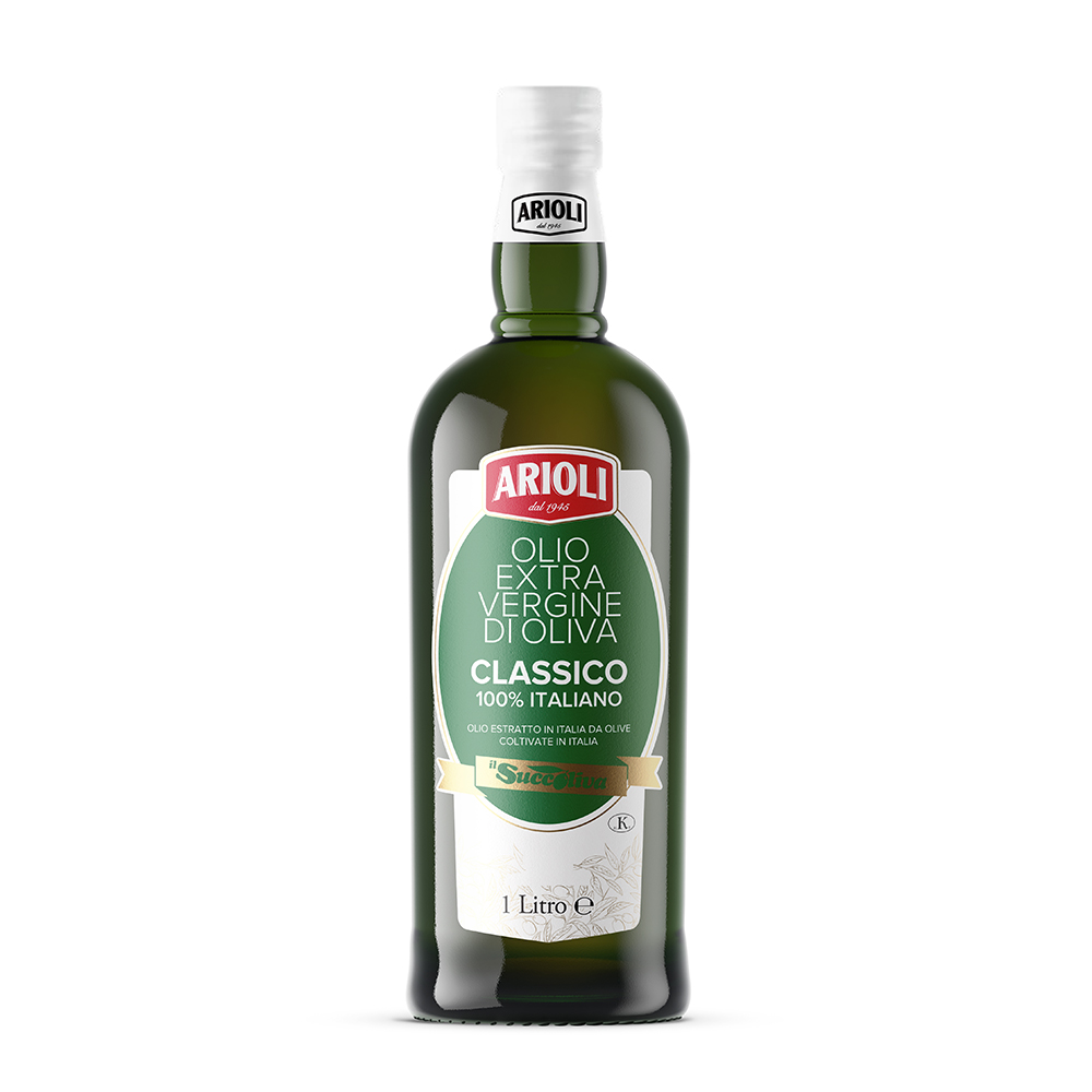 100% Italian Certified Origin Extra Virgin Olive Oil
