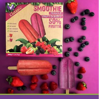 smoothie classic: wild berries italy Leisure food, ice cream, ice lolly