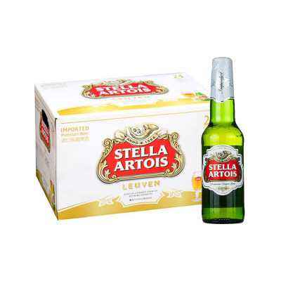 Buy Belgian Stella Artols Beer 330ML