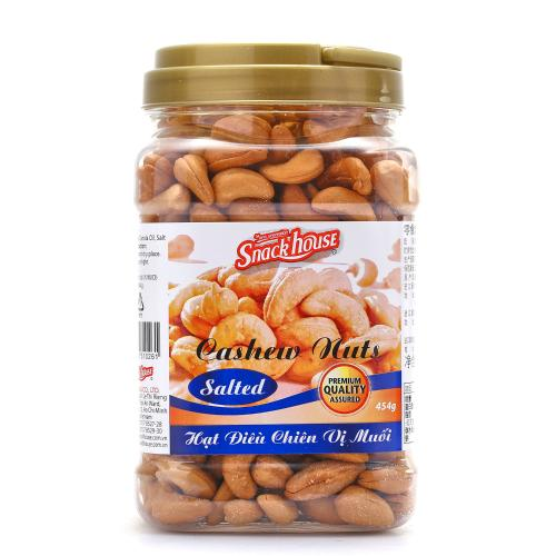 Snack House Snack room salt cashew nuts 454g