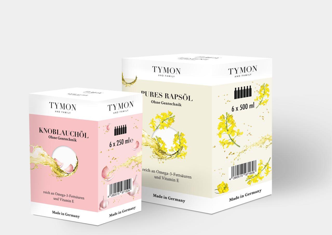 Germany Tymon garlic coriander oil