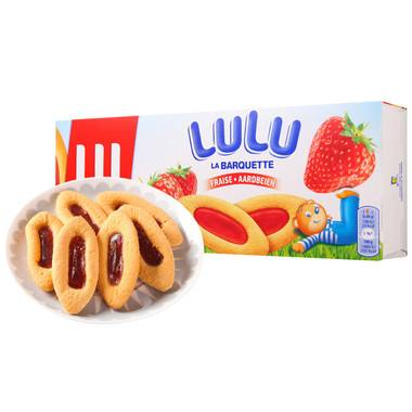 Premium Strawberry Jam Filled Cookies Manufacturer Biscuits